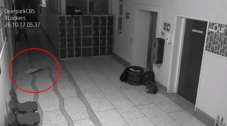 paranormal activity in a school in Ireland