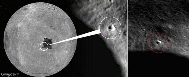 dark side of the Moon Chinese probe extraterrestrial bases - Chinese probe Chang'e-4 lands on the hidden side of the Moon and will reveal the existence of extraterrestrial bases