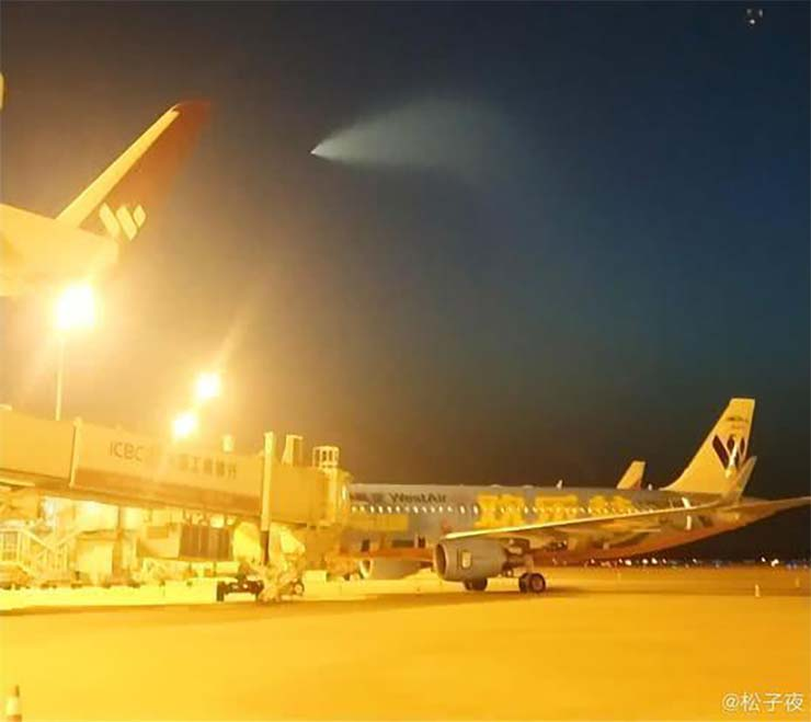 Chinese UFO military tests - Panic in China for the presence of a UFO during military tests