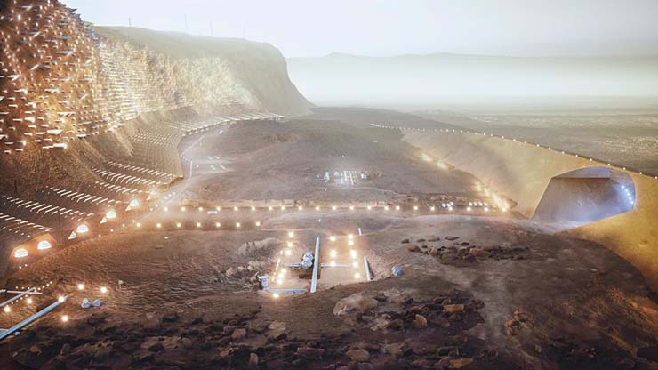 Mars regorge de vie extraterrestre - un scientifique de SETI dit que Mars est pleine de vie extraterrestre