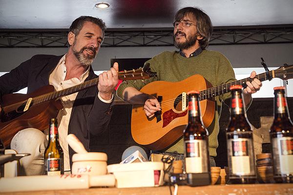 Xoel López y Pepe Solla Red Vintage