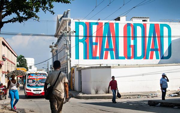 Obra de Boamistura en Barranquilla, Colombia