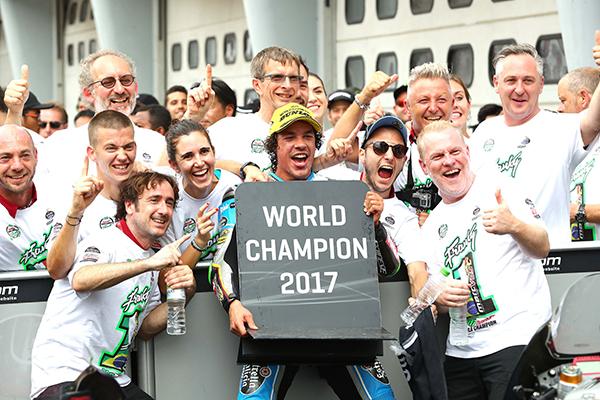 Team Estrella Galicia 0,0 Campeón del Mundo Moto2