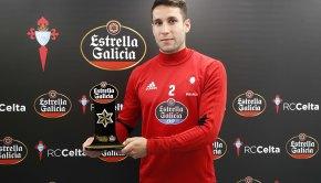 Hugo Mallo Jugador Estrella Galicia del Celta
