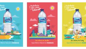 Fontarel ilustra las 8 provincias andaluzas en su nueva campaña