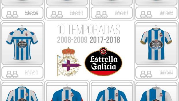 Estrella Galicia patrocinador Deportivo