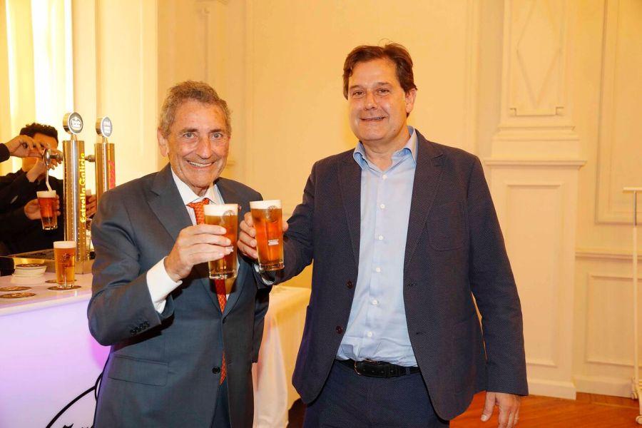 Ignacio Rivera y Carlos Mouriño