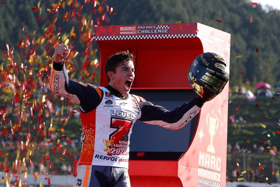 Marc Márquez campeón del Mundo de MotoGP