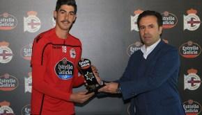 Jugador Estrella Galicia Octubre - RC Deportivo
