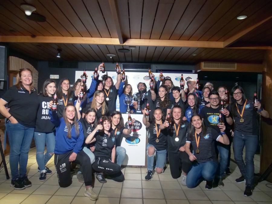 CRAT celebra título de Liga con Estrella Galicia