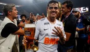 Estrella Galicia celebra con el Corinthians el título Paulista