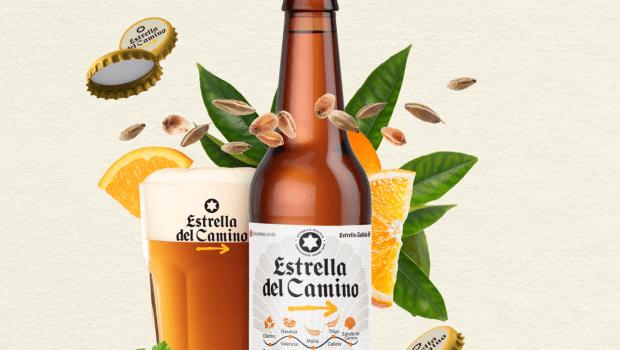 Gráfica lanzamiento 'Estrella del Camino', una cerveza de edición limitada en homenaje al Xacobeo 2021-2022