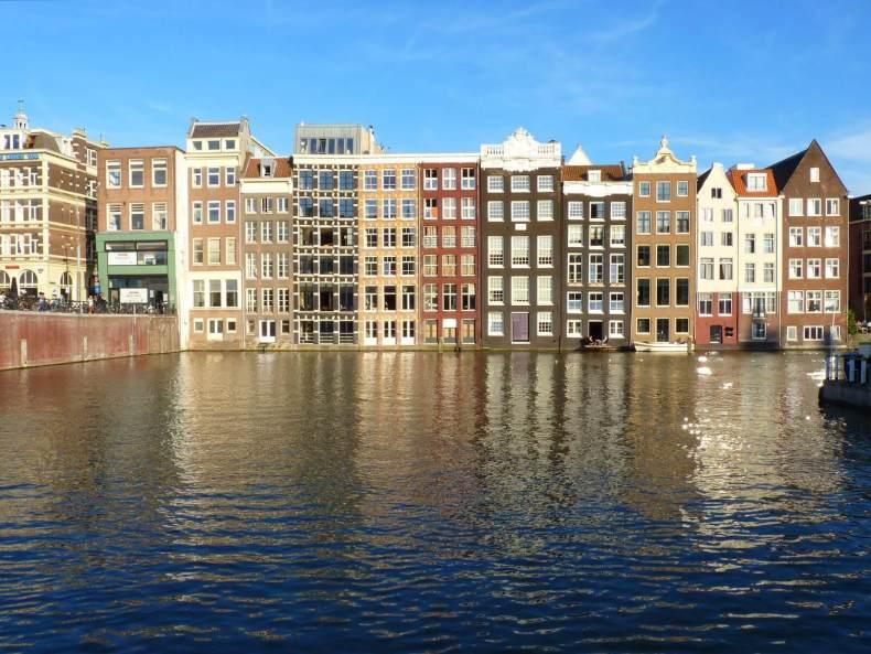 Amesterdão Países Baixos Canais 01 Mundo Indefinido