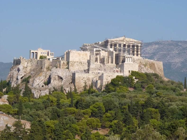 Atenas Acropole Grécia Mundo Indefinido