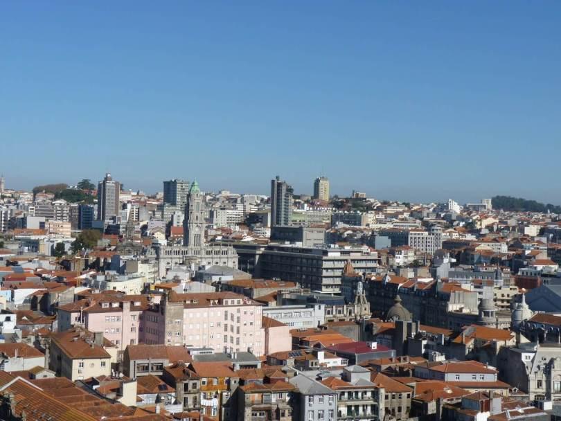 Vista Torre dos Clérigos 01 Porto Portugal Mundo Indefinido