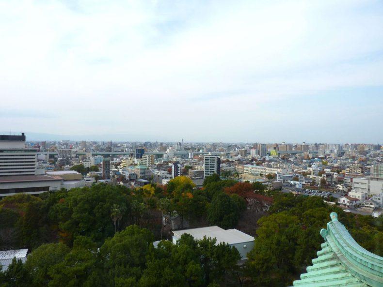 Nagoya vista do castelo Japão Mundo Indefinido