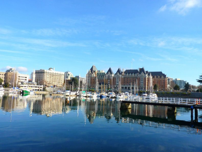 Inner Harbor Victoria Canadá Mundo Indefinido
