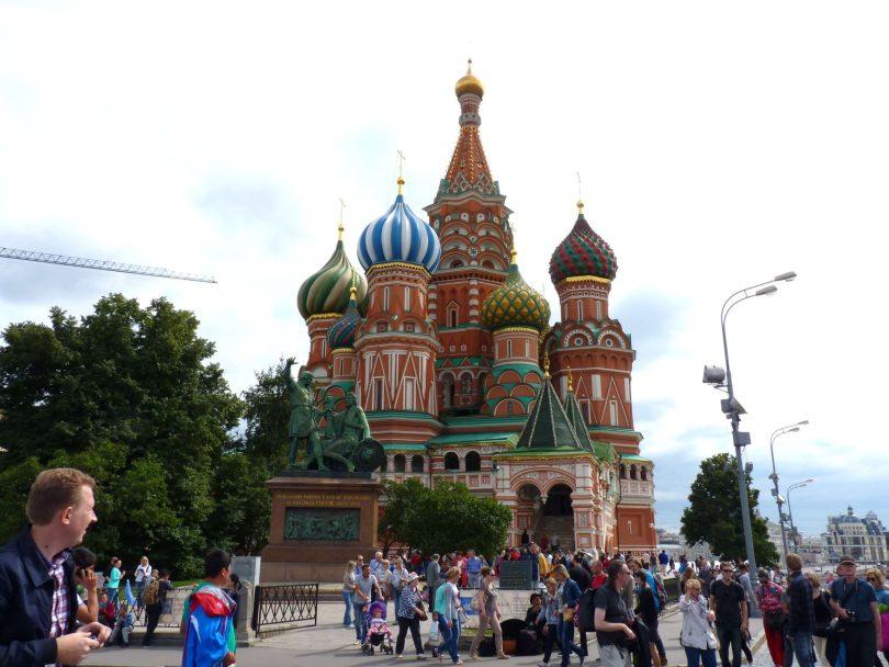 Catedral de São Basílio Moscovo Mundo Indefinido
