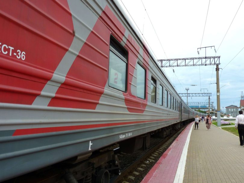 Comboio Transiberiano Rússia Mundo Indefinido