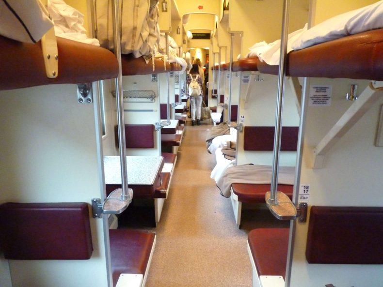Comboio interior 01 Rússia Mundo Indefinido