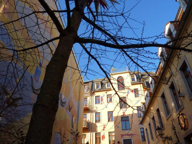 Kunsthofpassage 01 Dresden Alemanha Mundo Indefinido