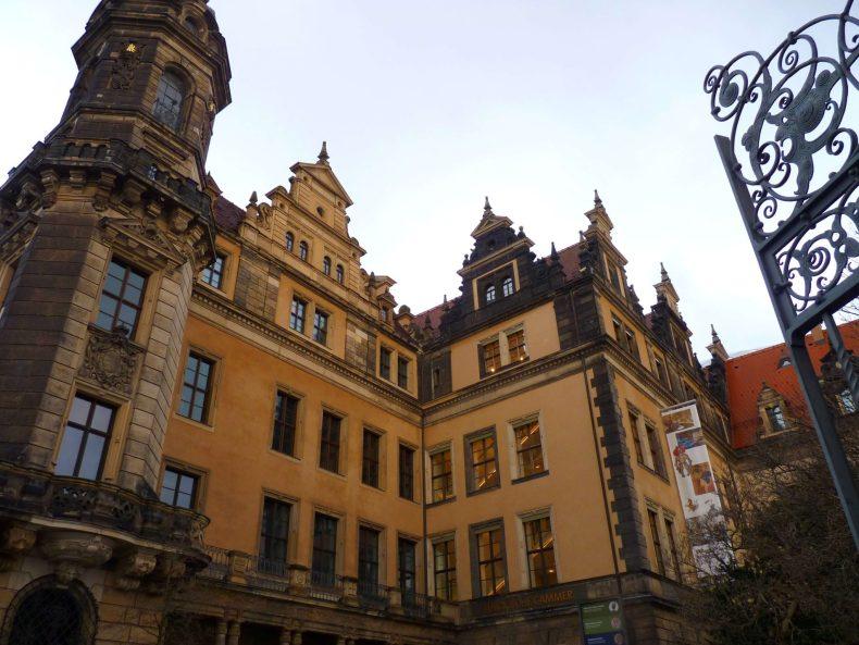Residenzschloss 02 Dresden Alemanha Mundo Indefinido