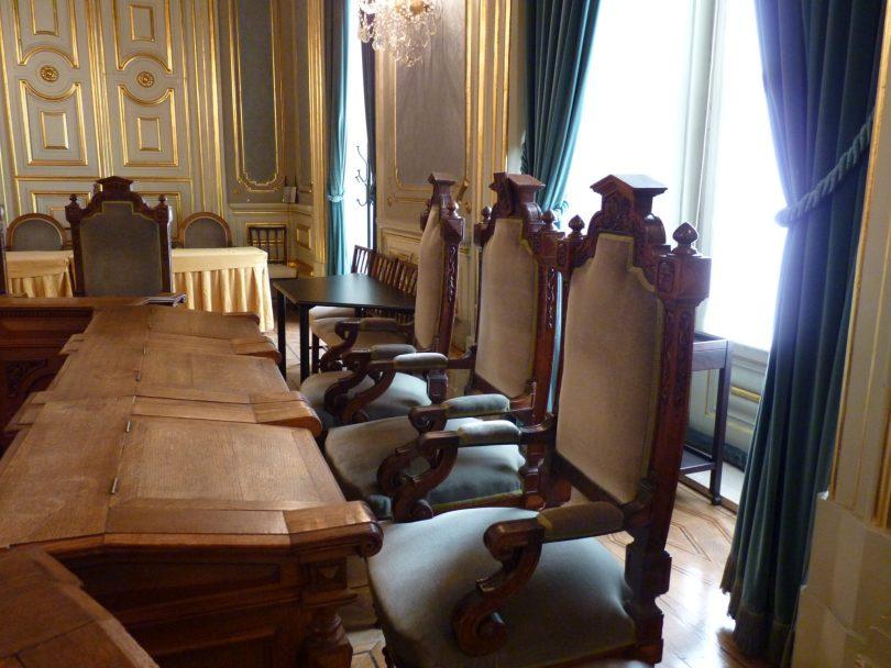 Câmara Municipal de Lisboa sala das sessões privadas 01 Lisboa Portugal Mundo Indefinido