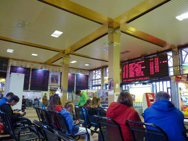 Irkutsk estação comboio 03 Rússia Mundo Indefinido