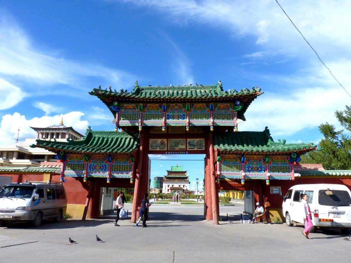 Mosteiro de Gandantegchinlen Khiid 01 Ulaanbaatar Mongólia Mundo Indefinido