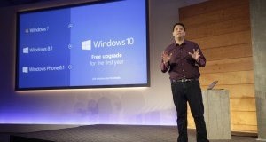 Terry anunciando Windows 10