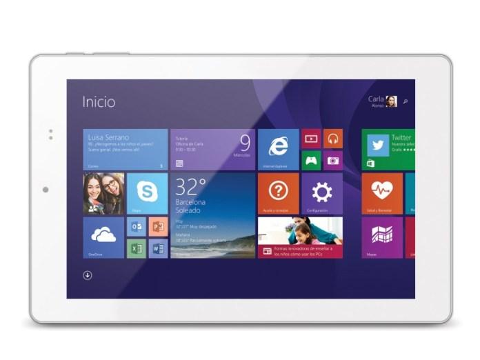 Windows Tablet Edición Real Madrid frontal