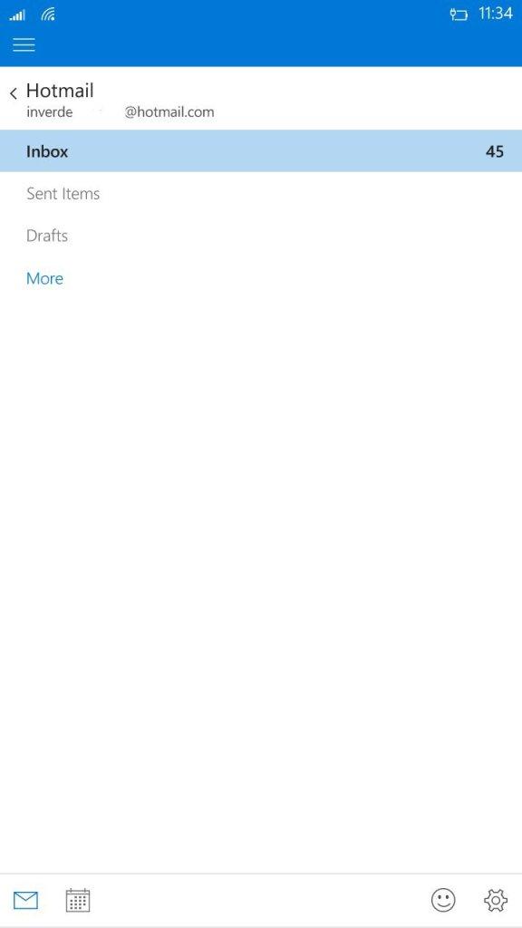 Outlook mail recibe una gran actualización