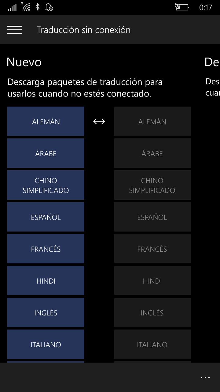 Los idiomas sin conexión y como trabajar con ellos