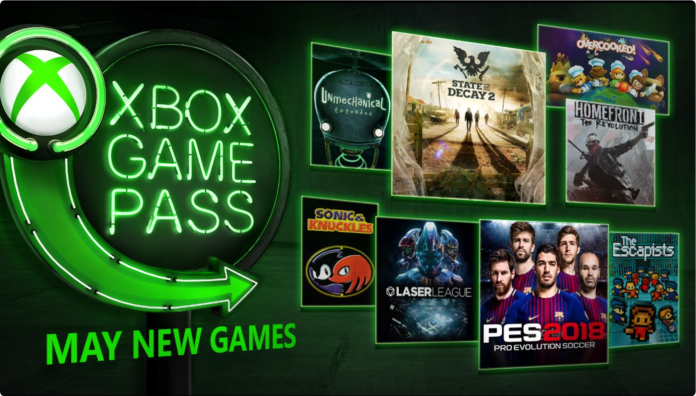 Xbox Game Pass anuncios mayo