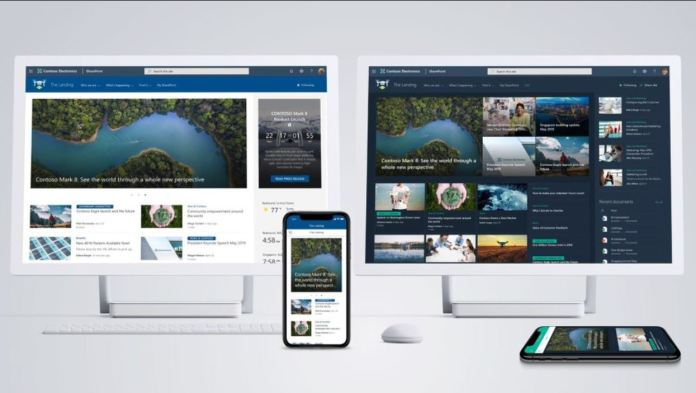 Las páginas de inicio de SharePoint ya están disponibles