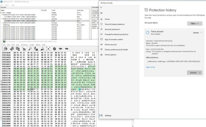 Microsoft Defender ahora tiene un escáner UEFI