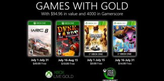 Estos son los Games With Gold de julio