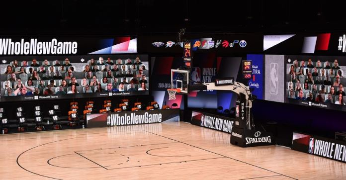 Teams transforma la asistencia a la NBA en plena pandemia