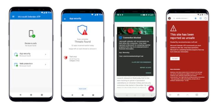 Microsoft Defender ATP para Android ya está disponible