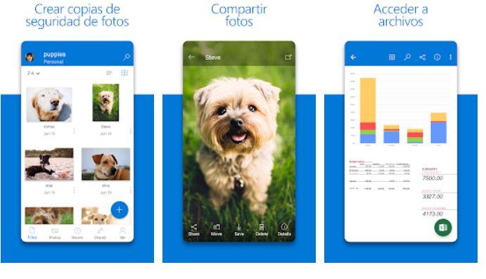 OneDrive para Android permite agregar comentarios a archivos que no son de Office