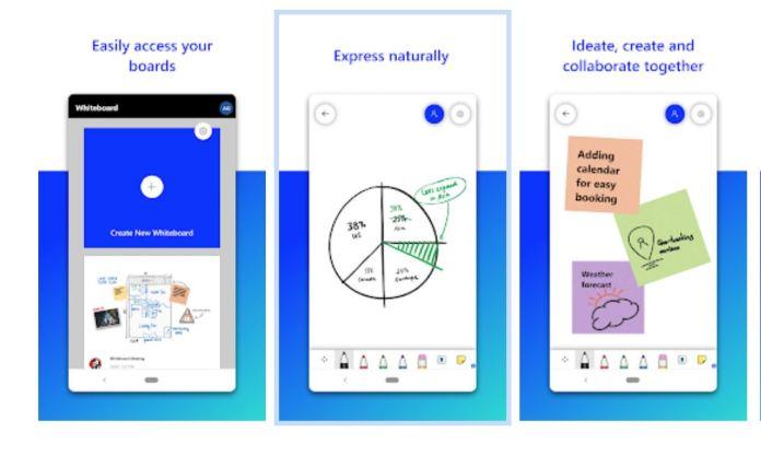 Microsoft Whiteboard llega por fin a dispositivos Android