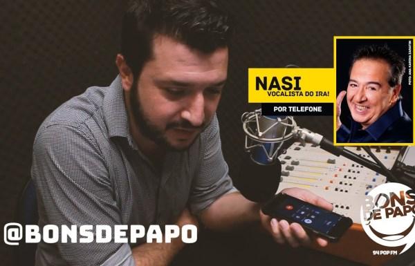 Bons de Papo faz programa dedicado ao Ira! e entrevista exclusiva com Nasi