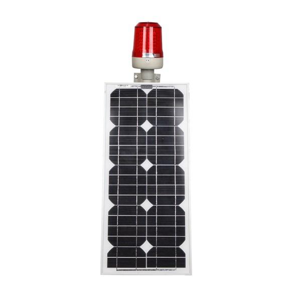 Güneş Enerjili Uçak İkaz Lambası
