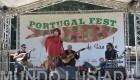 A fadista Ciça Marinho foi uma das atrações no palco da festa. Foto Mundo Lusíada