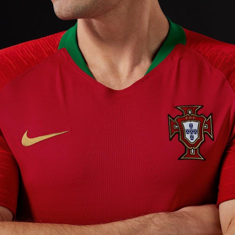 Novo uniforme da Seleção Portuguesa para o Mundial 2018 - Jornal ... 04ef89ef885c1