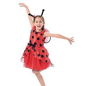 Disfraz de Mariquita con Falda de Tul Infantil - mundomariquita.com