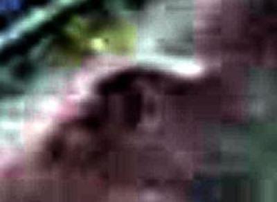 Criatura Gris (¿Alien?) capturada en cámara de tráfico 6