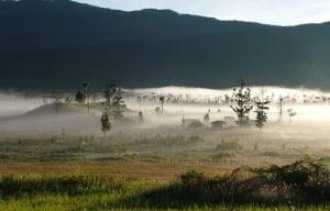 Los más antiguos asentamientos a gran altitud, se remontan a 49.000 años, descubiertos en Papúa Nueva Guinea