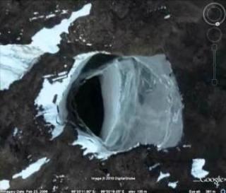 Misterios de la Antártida Se han encontrado pruebas de anomalia en Google Earth, a través de fotografías satelitales. 1