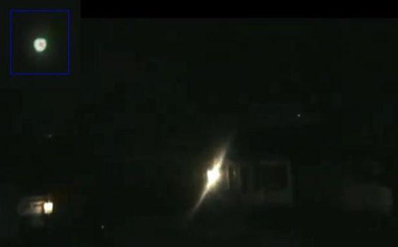 Objeto volador desconocido sobre el sudeste. Área de Chicago, Febr 19, 2011